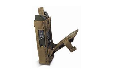 Diamondback Tactical 152 MBTR Radio Pouch, Coyote, A-BLPM33-COYOTE