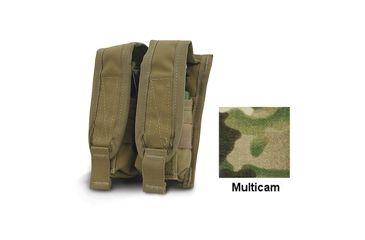 Diamondback Tactical 40 mm Double Flashbang Pouch, Multicam, A-BLPM20-2-MULTICAM