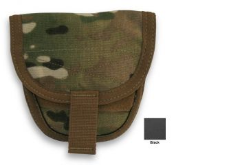 Diamondback Tactical Handcuff Pouch, Holds 1-2, Black, A-BLPM99-BLACK