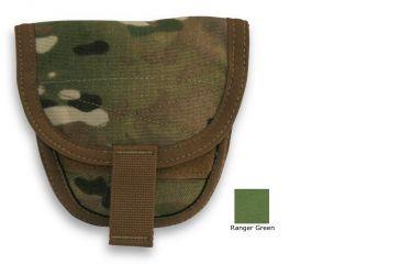 Diamondback Tactical Handcuff Pouch, Holds 1-2, Ranger Green, A-BLPM99-RANGERGREEN