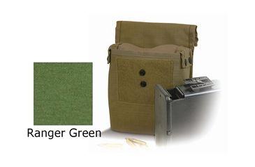 Diamondback Tactical M249 Saw Ammo 200RD Pouch, Ranger Green, A-BLPM15-RANGERGREEN