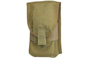 Diamondback Tactical SR25 Double 2 Mag Pouch, Coyote, A-BLPM18-COYOTE