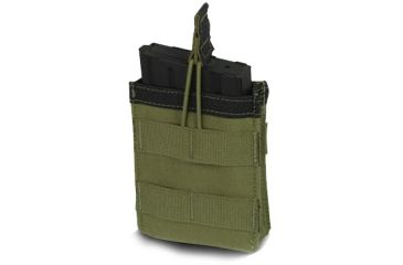 Diamondback Tactical SR25 Single Mag Pouch, Ranger Green, A-BLPM04-1-RANGERGREEN