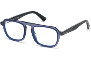 6c664a873b Diesel DL5288 Eyeglass Frames - Shiny Blue Frame Color