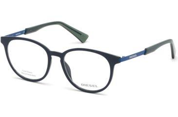 69d2e8fbed Diesel DL5289 Eyeglass Frames - Shiny Blue Frame Color