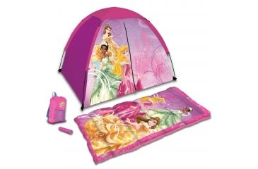 Disney Princess 4 Piece Kids Camp Set, Princess D-4SLGPRN2A
