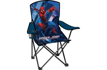 Disney Spiderman Solid Camp Chair with Arms, Spiderman MKC-101SPD2A