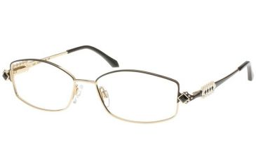 Diva 5287 Eyewear - Gold-Black; Crystal/Black Stones (2e)