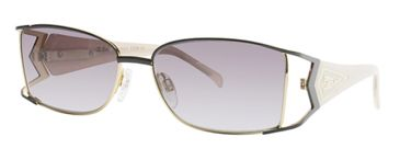 Diva 4151 Sunglasses with 217 Anthracite-Pearl Frame and Grey Gradient Lens 4151-217