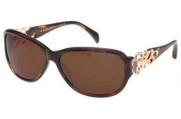 Diva Womens 4161  Sunglasses - Tortoise Frame w/ Brown Gradient Lenses, Size 52-15-130 4161-285