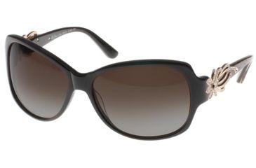 Diva Womens 4164  Sunglasses - Black-Brown Leopard Frame w/ Grey Gradient Lenses, Size 60-15-125 4164-445