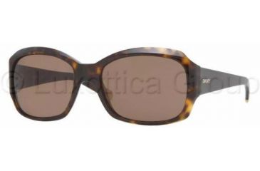 DKNY DY4048 Single Vision Prescription Sunglasses DY4048-301673-5517 - Lens Diameter: 55 mm, Frame Color: Dark Tortoise