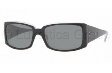 DKNY DY 4056 Sunglasses Styles Black-Ice Frame / Gray Lenses, 336087-5617, DKNY DY 4056 Sunglasses Styles Black-Ice Frame / Gray Lenses