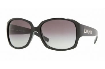 DKNY DY 4069 Sunglasses, Black Frame / Gray Gradient Lenses, 329011 6016