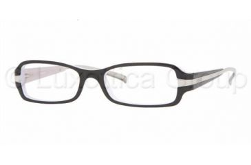 5d059f9a25 DKNY DY4583 Progressive Eyeglasses - Black-White-Ice Demo Lens Frame   49 mm