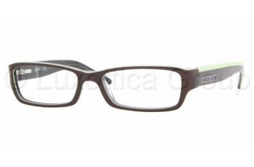 3eb0163b5c DKNY DY4587 SV Prescription Eyeglasses Brown Green Transparent Blue Frame    51 mm Prescription