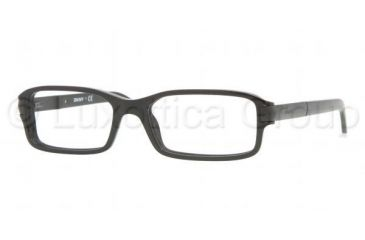 DKNY DY 4604 Eyeglasses w/ Black Frame and Non-Rx 51 mm Diameter Lenses, 3001-5117
