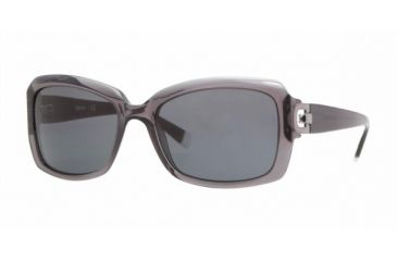 DKNY DY4073 #349387 - Transparent Gray Gray Frame