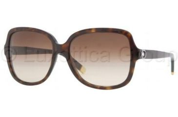 DKNY DY4078B Sunglasses 301613-5816 - Dark Tortoise Brown Gradient