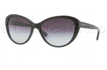 DKNY DY4084 Progressive Prescription Sunglasses DY4084-300111-5716 - Lens Diameter 57 mm, Frame Color Black