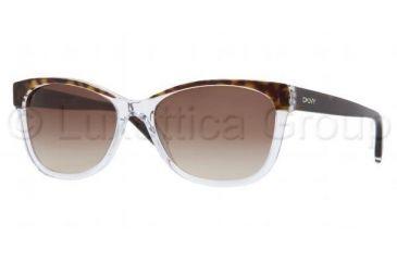 DKNY DY4086 Bifocal Prescription Sunglasses DY4086-353313-5617 - Lens Diameter 56 mm, Frame Color Tortoise Crystal