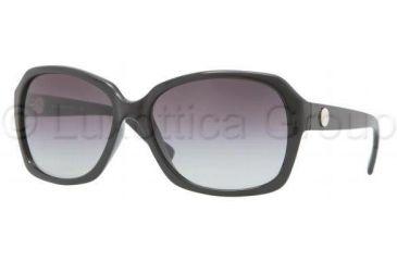 DKNY DY4087 Sunglasses 30018G-5916 - Black Frame, Gray Gradient Lenses