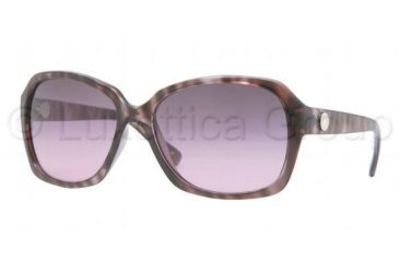 DKNY DY4087 Sunglasses 353890-5916 - Violet Tortoise Frame, Violet Gradient Lenses