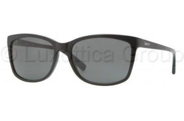 DKNY DY4090 Single Vision Prescription Sunglasses DY4090-300187-5817 - Lens Diameter 58 mm, Frame Color Black