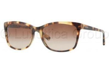 DKNY DY4090 Single Vision Prescription Sunglasses DY4090-332713-5817 - Lens Diameter 58 mm