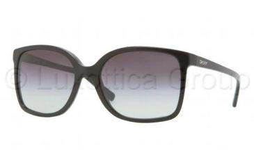 DKNY DY4092 Bifocal Prescription Sunglasses DY4092-30018G-5718 - Frame Color Black, Lens Diameter 57 mm