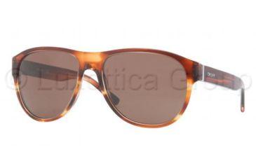 DKNY DY4097 Sunglasses 357873-5817 - Brown Frame