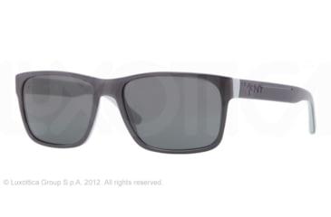 DKNY DY4098 Single Vision Prescription Sunglasses DY4098-355987-55 -