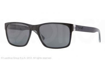 DKNY DY4098 Single Vision Prescription Sunglasses DY4098-358287-55 -