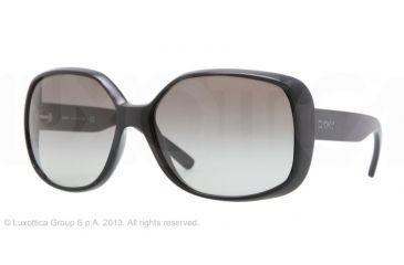 DKNY DY4101 Single Vision Prescription Sunglasses DY4101-300111-61 - Lens Diameter 61 mm, Lens Diameter 61 mm, Frame Color Black