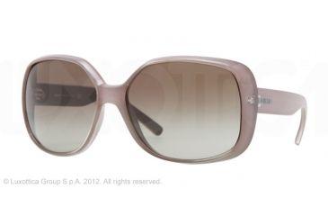 DKNY DY4101 Single Vision Prescription Sunglasses DY4101-358613-61 - Lens Diameter 61 mm, Lens Diameter 61 mm, Frame Color Peral Gray