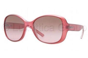 DKNY DY4102 Single Vision Prescription Sunglasses DY4102-359014-5717 - Lens Diameter 57 mm, Frame Color Vintage Pink