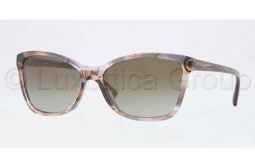 DKNY DY4105 Bifocal Prescription Sunglasses DY4105-359113-5716 - Lens Diameter 57 mm, Frame Color Spotted Brown