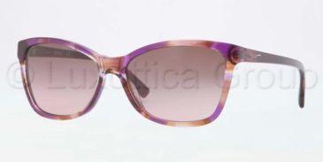 DKNY DY4105 Bifocal Prescription Sunglasses DY4105-359314-5716 - Lens Diameter 57 mm, Frame Color Spotted Pink