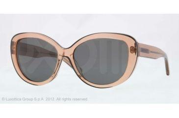 DKNY DY4107 Sunglasses 360687-56 - Brown Frame, Gray Lenses