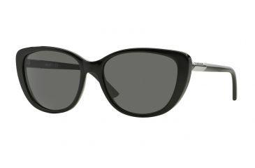 DKNY DY4121 Sunglasses 300187-56 - Black Frame, Gray Lenses 4753156e64