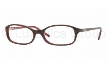 a4239091f0 DKNY DY4581 Eyeglasses Styles - Havana-Red Frame w Non-Rx 49 mm
