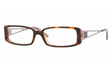 DKNY DY4607 #3456 - Havana / Honey Demo Lens Frame