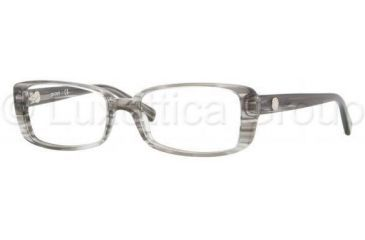 DKNY DY4623 Progressive Prescription Eyeglasses 3449-5016 - Striped Gray Demo Lens Frame