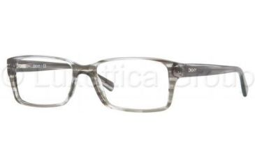 DKNY DY4624 Single Vision Prescription Eyeglasses 3449-5216 - Striped Gray Demo Lens Frame