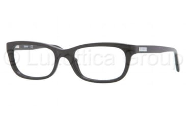 DKNY DY4635 Single Vision Prescription Eyeglasses 3001-5018 - Black Frame