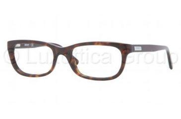 DKNY DY4635 Progressive Prescription Eyeglasses 3016-5018 - Dark Tortoise Frame