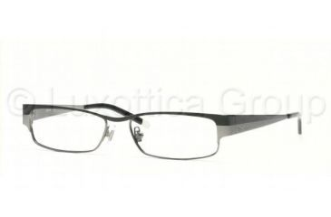 DKNY DY5553 Eyeglasses Styles - Black - Gunmetal Frame w/Non-Rx 50 mm Diameter Lenses, 1080-5015
