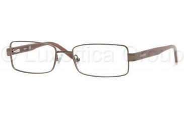 DKNY DY5622 Progressive Prescription Eyeglasses 1169-5117 - Matte Brown