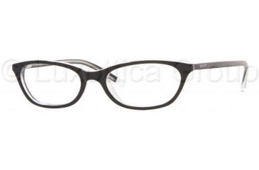 DKNY Eyeglass DY4558 3131-5116 - Black Top On Trasparen