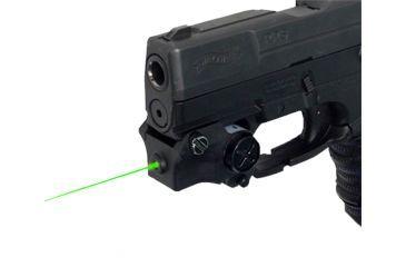 1-DMA XTS-CGL2 XTS Green Laser Rechargeable Sub-Compact Pistol W/Rail Black XTSCGL2